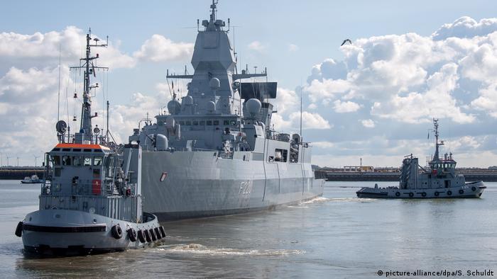 Deutschland Wilhelmshaven | Libyen-Einsatz | Fregatte Hamburg