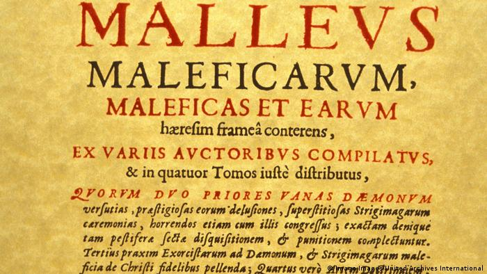 Title page of 'Malleus Maleficarum' (Imago Images/United Archives International)