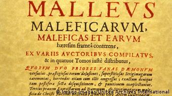 Titelseite des Malleus Maleficarum: Hexenhammer
