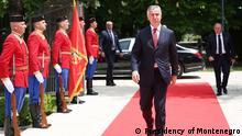 Montenegro Wahlen