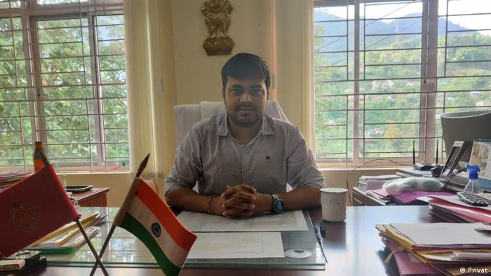 Indien Internetausbau im Ort Vijaynagar | Devansh Yadav (Privat)