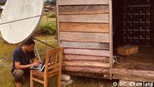 Indien Internetausbau im Ort Vijaynagar