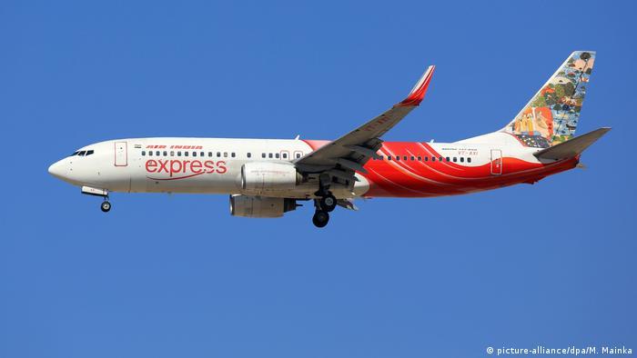 Symbolbild Air India Express (picture-alliance/dpa/M. Mainka)