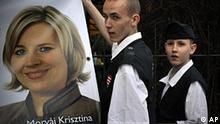 Ungarn Wahlen Jobbik Krisztina Morvai ungarische Garde