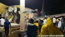 Indien Air India Zwischenfall Calicut International Airport