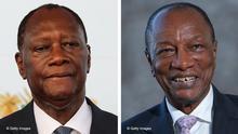 Bildkombo Alassane Ouattara und Alpha Conde