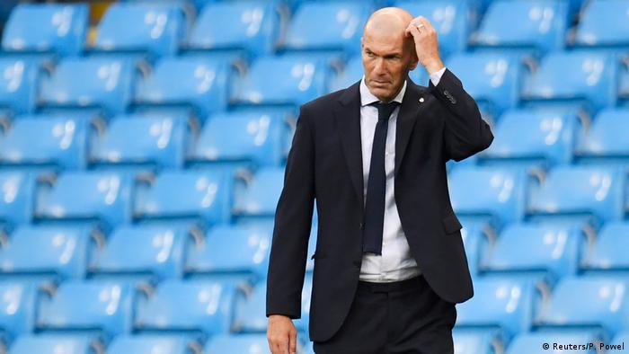 El entrenador francés, Zinedine Zidane, en una imagen de archivo.