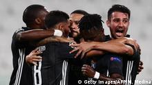Champions League - Juventus v Olympique Lyonnais | Tor Memphis Depay