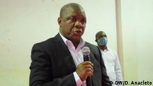 Valigy Tauabo, Governeur von Cabo Delgado, Nord Mosambik. Foto: Delfim Anacleto / DW am 8.8.2020
