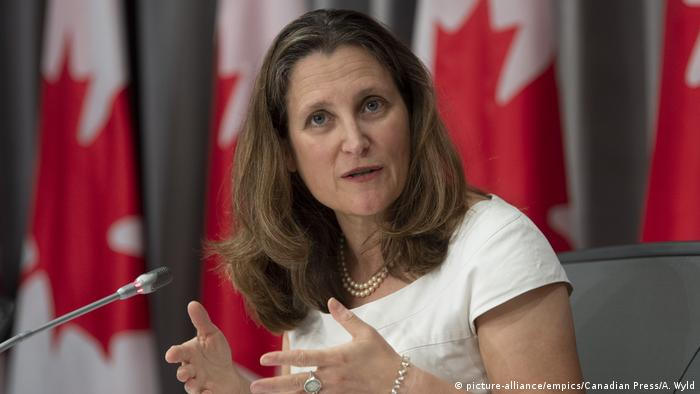 Віцепрем'єрка Христя Фріланд очолила міністерство фінансів Канади