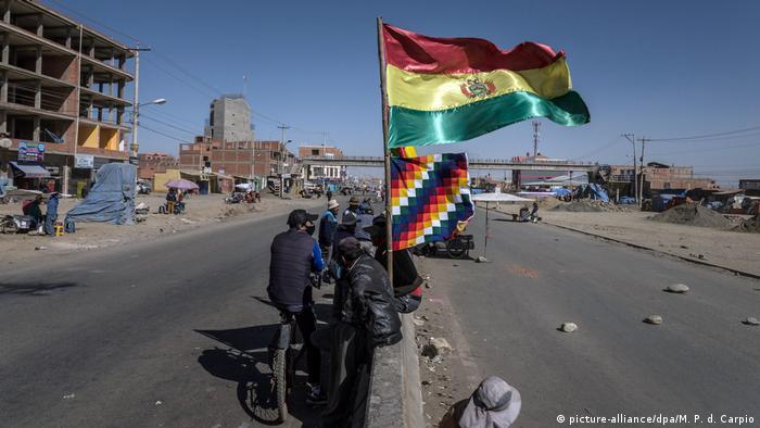 Bolivien I Straßenblockaden I Wahlen (picture-alliance/dpa/M. P. d. Carpio)