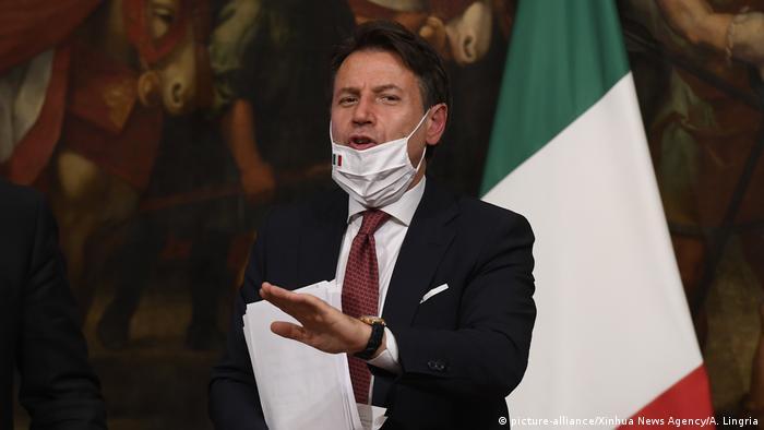 Italien I Giuseppe Conte zum italienischen Corona-Hilfspaket