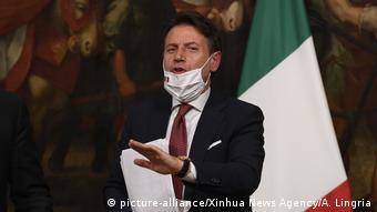 Джузеппе Конти, премьер-министр Италии