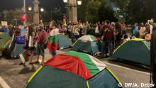 Bulgarien Anti-Regierungs-Proteste in Sofia