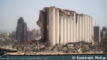 Libanon Folgen der Explosion im Hafengebiet von Beirut