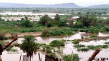 More Than 400 displaced in Afar after heavy flood hits the region Wo- Afar, Ethiopia Wann- August, 2020 Author- Allo Yayo (Nicht DW Mitarbeiter)