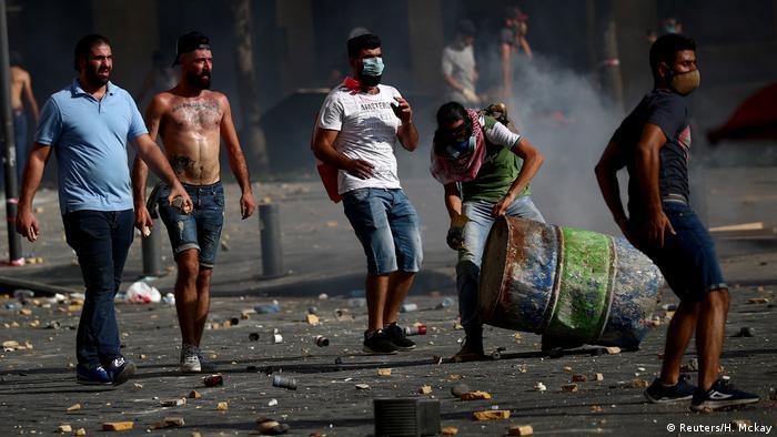 Libanon | Explosion in Beirut | Proteste gegen Regierung