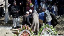 Afghanistan Beerdigung Bettina Goislard 2003