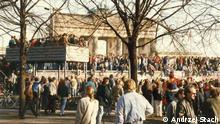 DDR vs. Polen | Berliner Mauer - November 1989