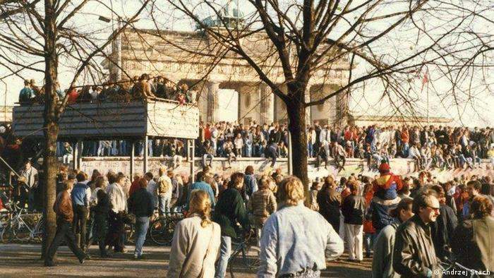 DDR vs. Polen | Berliner Mauer - November 1989 (Andrzej Stach)