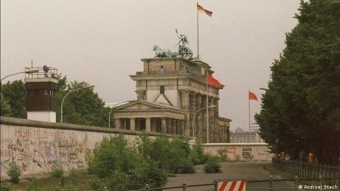 Berlin 1988, kiedy istniał jeszcze mur berliński