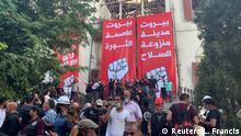 Libanon Proteste in Beirut | Aussenministerium