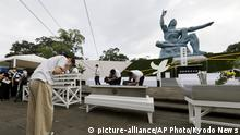 Japan Nagasaki Anniversary ceremony (picture-alliance/AP Photo/Kyodo News)