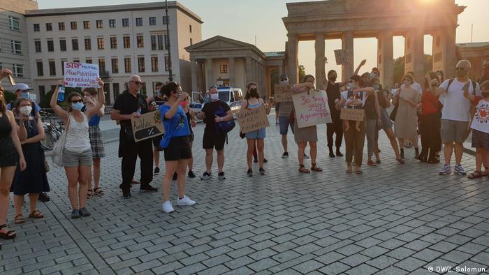 Serbien | Proteste in Berlin gegen die Regierung
