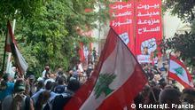 Libanon | Ausschreitungen bei Anti-Regierungsprotesten in Beirut