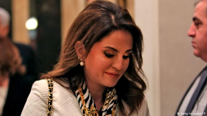 Lebanon's former Information Minister Manal Abdel Samad (Getty Images/AFP)