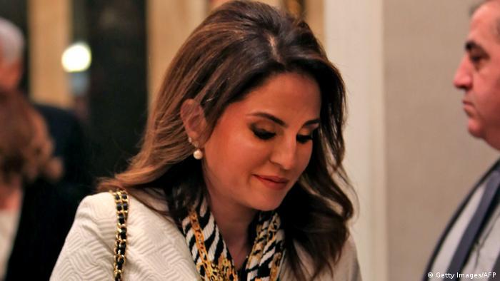 Lebanon's former Information Minister Manal Abdel Samad