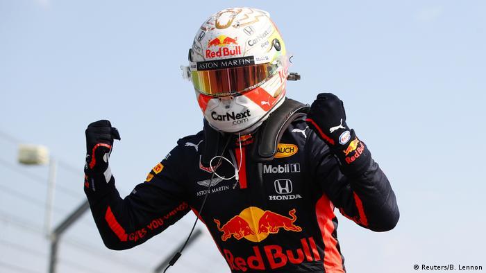 Formel 1 | Rennen in Silverstone | Verstappen (Reuters/B. Lennon)
