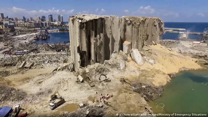 Explosão devastou o porto e alguns bairros de Beirute