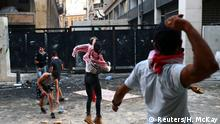Libanon Proteste in Beirut