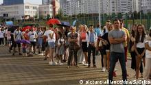 Belarus Präsidentenwahl Minsk