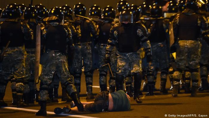 Під час протестів у Мінську постраждали десятки мітингарів, кажуть правозахисники