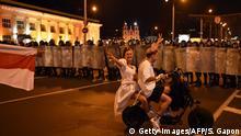 Weißrussland Wahlen Proteste Polizei