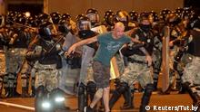 Police crack down on protesters in Belarus after presidential election