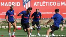 Spanien Atletico Madrid - Training (picture-alliance/dpa/Atletico Madrid)