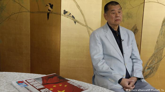 Hongkong Jimmy Lai Medienunternehmer (picture-alliance/AP Photo/V. Yu)