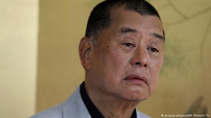 Der 73 Jahre alte Hongkonger Medienunternehmer Jimmy Lai