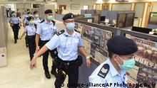 Hongkong Festnahme Medienunternehmer Jimmy Lai