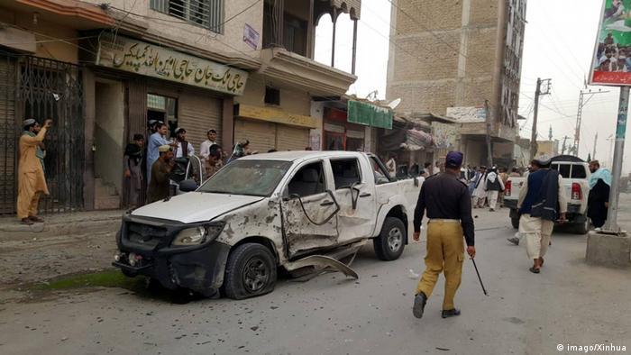 Symbolbild Pakistan | Bombenanschlag in Balochistan (imago/Xinhua)