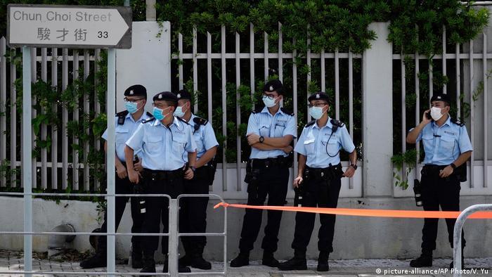 Hongkong Festnahme Medienunternehmer Jimmy Lai (picture-alliance/AP Photo/V. Yu)