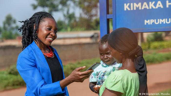 Community Reporter in Uganda