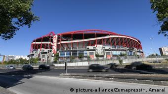 Benfica's Estadio da Luz is one of the Champions League venues