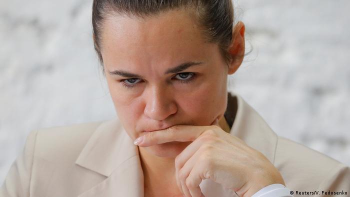 Oppositionskandidatin Swetlana Tichanowskaja will eine Neuauszählung der Stimmen