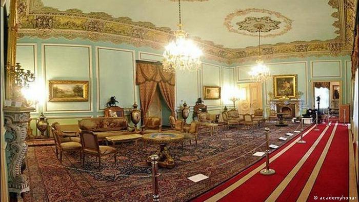 Iran Marmar Palast in Teheran (academyhonar)