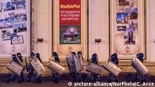 Weißrussland Präsidentschaftswahlen Proteste und Ausschreitungen in Minsk