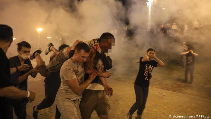 Протесты в Беларуси после выборов президента 2020